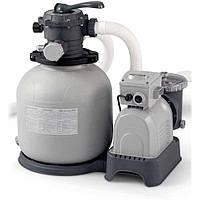 Фильтр-насос глубокой очистки 230V Intex 28648 Серый int28648, КОД: 109618