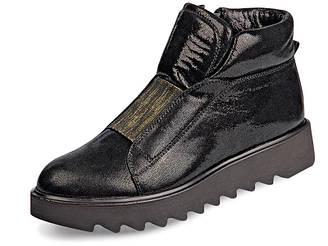 Женские ботинки осень Mida 38 Черный 22156 392 38, КОД: 1534016