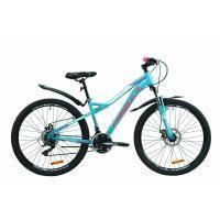 """Велосипед Formula 26"""" ELECTRA AM DD рама-15.5"""" St 2020 бирюзовый (OPS-FR-26-401)"""