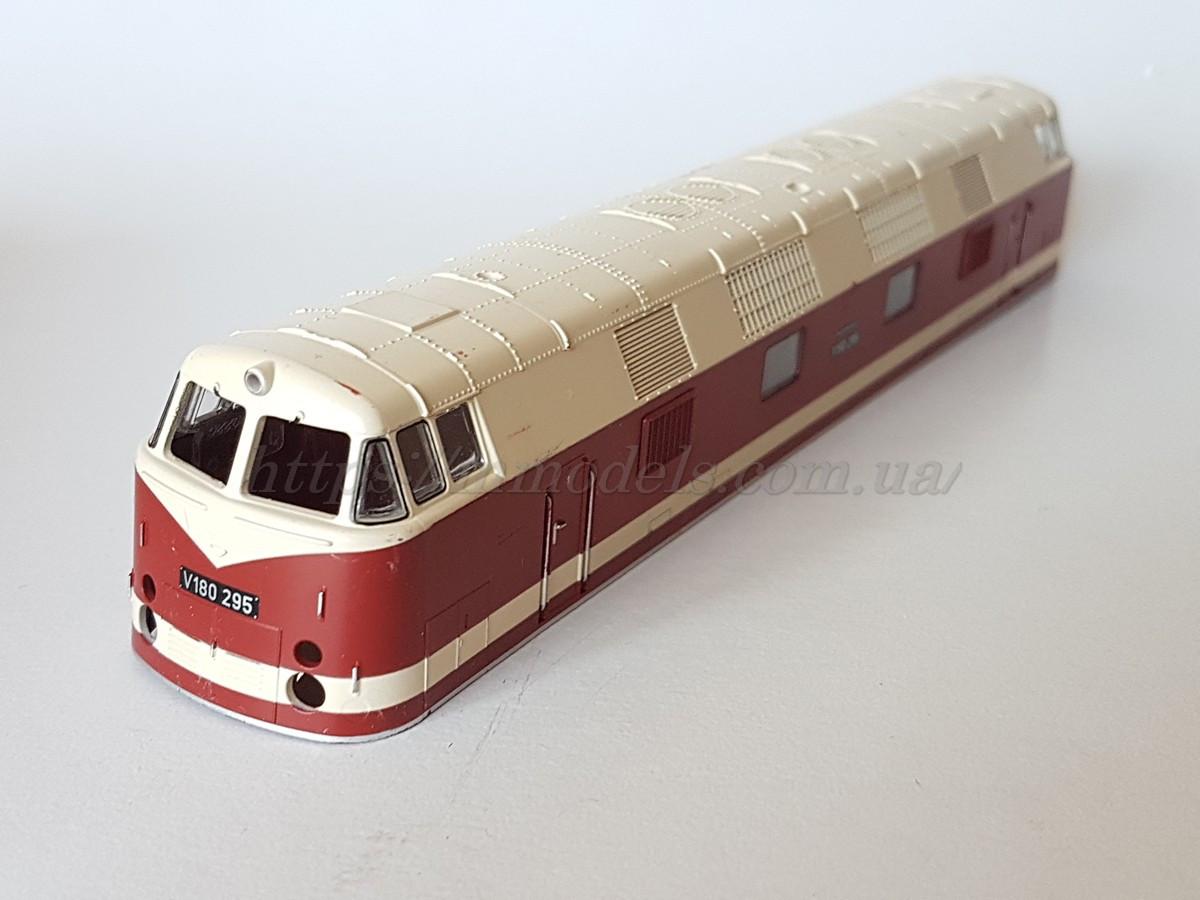 Piko 59587-3 Кузов (корпус) моделі тепловоза Diesellok V 180 295, масштабу 1:87,H0