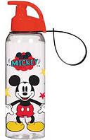 Бутылка спортивная Herevin Disney Mickey Mouse 500 мл Прозрачная с рисунком psgUK-161414-010, КОД: 944665