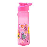 Бутылка для воды YES Lovely cats 580 мл Розовый 706886, КОД: 1563729
