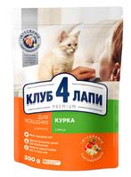 """""""C4P""""д/кошенят 300 г Курка Преміум"""