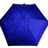 Складана парасоля механіка, полиестер Арт.5393 (Зонт, т.синий, полиестер.)