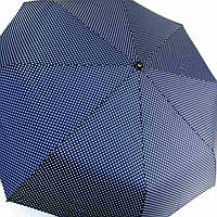 Складана парасоля автомат, полиестр/карбон Арт.5371C (Зонт автомат,т.синий/белый, полиестр)