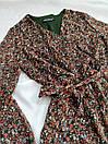 Платье женское с цветочным принтом миди, фото 3