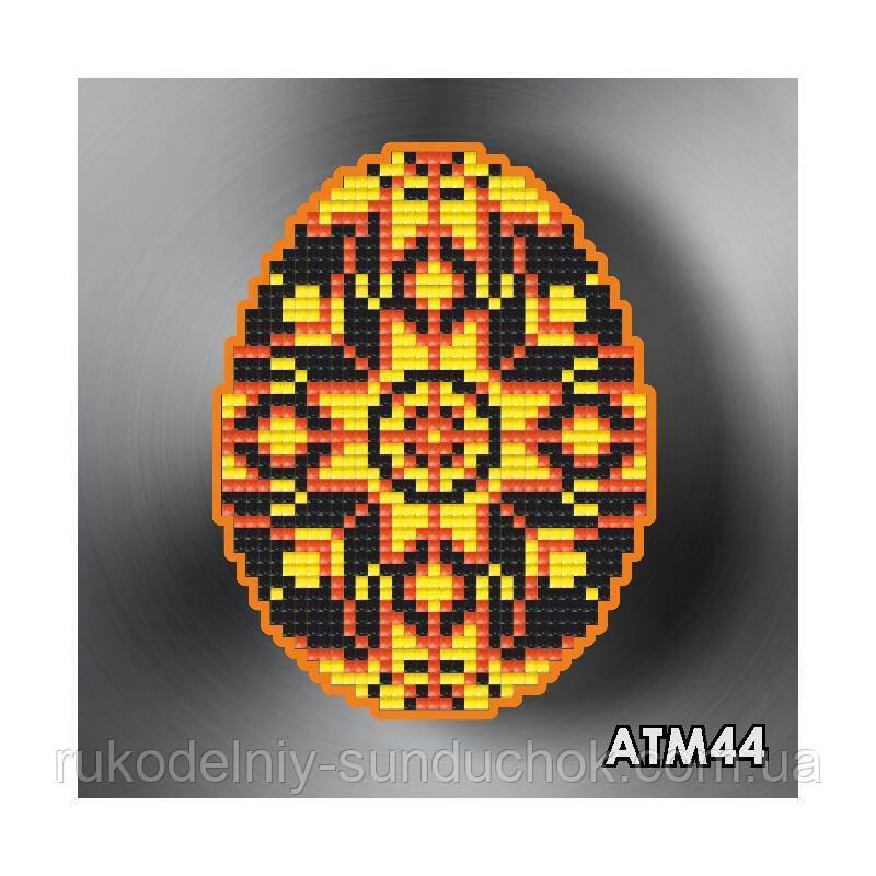 Набор алмазной вышивки (магнит) ТМ ArtSolo Писанка Любовь и плодородие  АТМ44