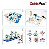 """CubicFun Тривимірна головоломка-конструктор """"ТАУЕРСЬКИЙ МІСТ (Лондон) """", фото 4"""