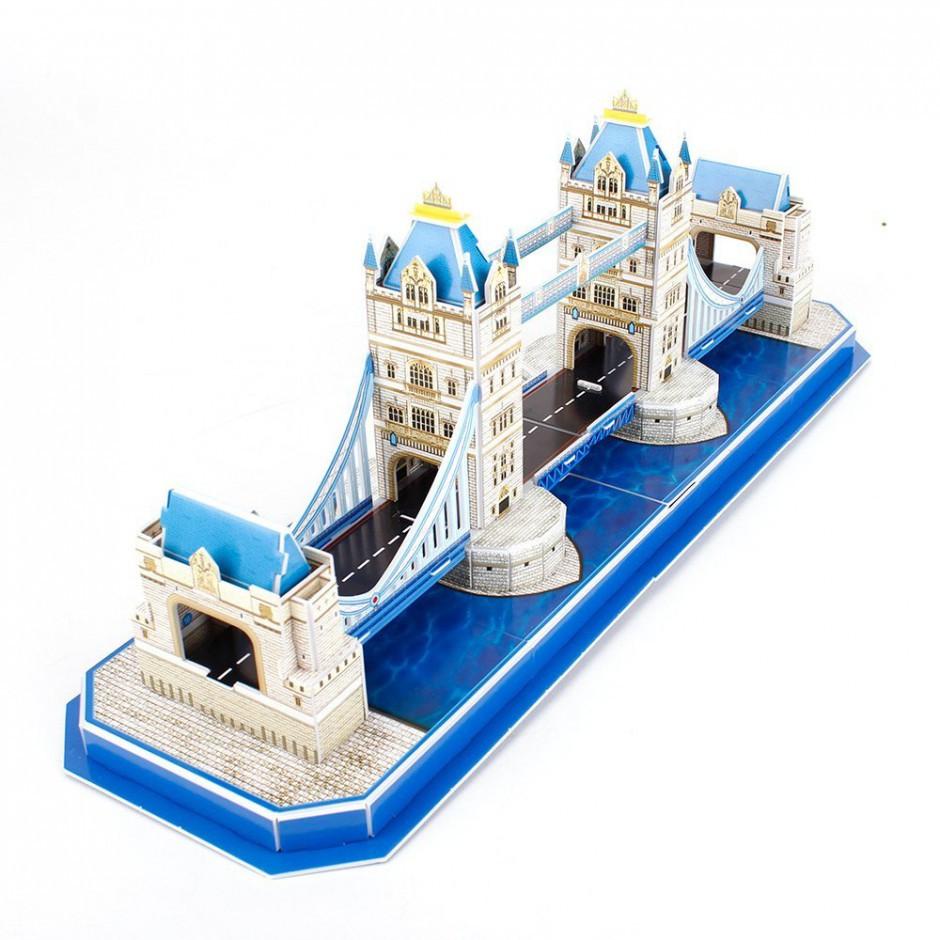 """CubicFun Тривимірна головоломка-конструктор """"ТАУЕРСЬКИЙ МІСТ (Лондон) """""""