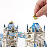 """CubicFun Тривимірна головоломка-конструктор """"ТАУЕРСЬКИЙ МІСТ (Лондон) """", фото 5"""