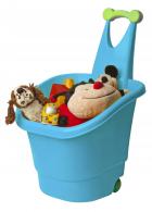 Детская тележка для игрушек салатовая 43х42х60 см PalPlay Store N Roll  26689