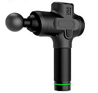 Портативный ручной массажер для тела Fascial Gun | Универсальный аккумуляторный массажер