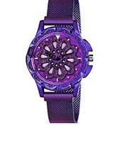 Часы Rotation Watch ФИОЛЕТОВЫЕ | Женские наручные часы