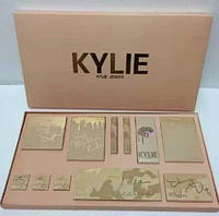 Набор подарочный KYLIE бежевый | Подарочный набор декоративной косметики