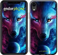 Силиконовый чехол на iPhone XR Арт-волк 3999u-1560-26985, КОД: 1537625