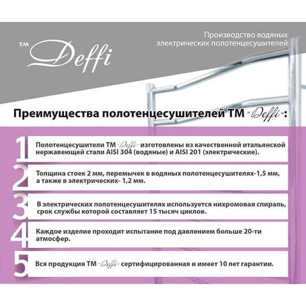 Рушникосушки ТМ Деффи