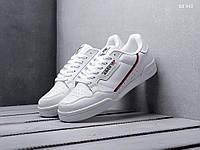 Мужские кроссовки Adidas Continental 80 (белые) Натуральная кожа ОРИГИНАЛ (40,42,44,45)