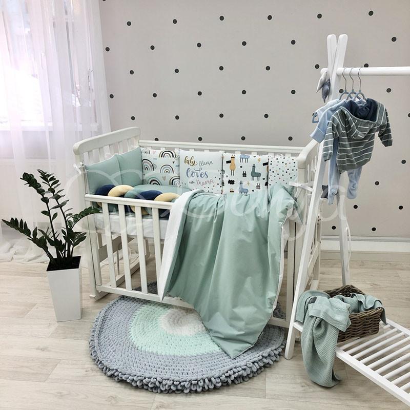 Комплект в детскую кроватку Art Design Ламы (6 предметов)