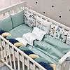 Комплект в детскую кроватку Art Design Ламы (6 предметов), фото 2