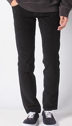 Вельветовые брюки Levis 511 - Mineral Black
