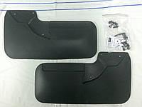 Ford Transit 2014+ гг. Оригинальные задние брызговики (2 шт, резина)