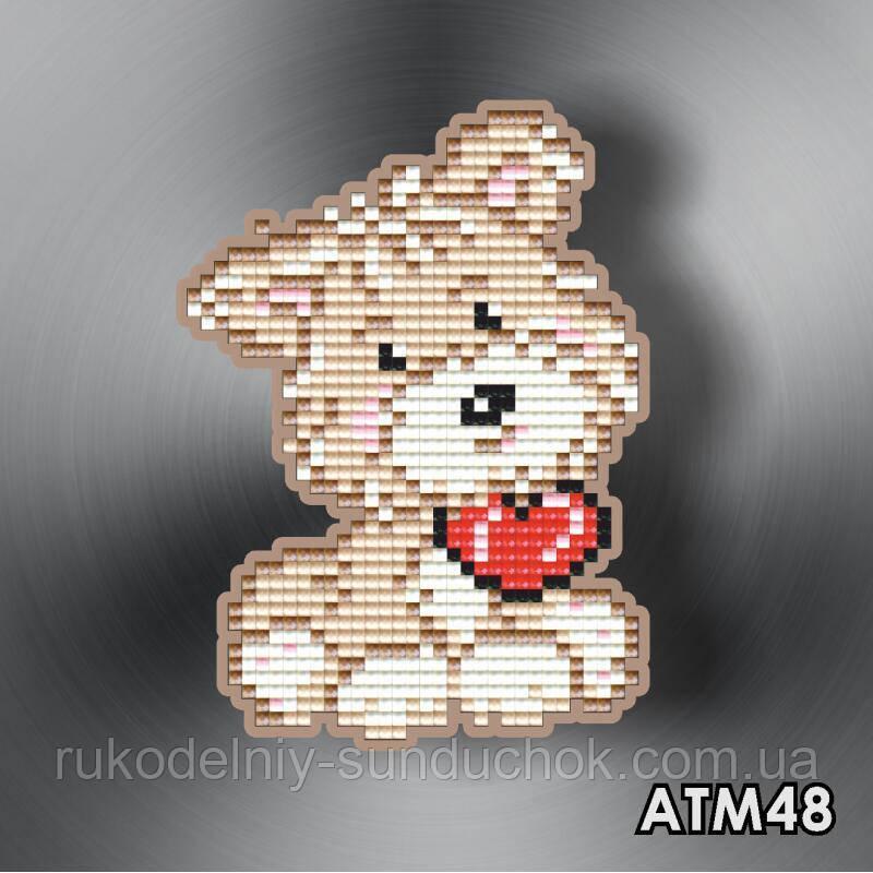 Набор алмазной вышивки (магнит) ТМ ArtSolo  Йорк АТМ48