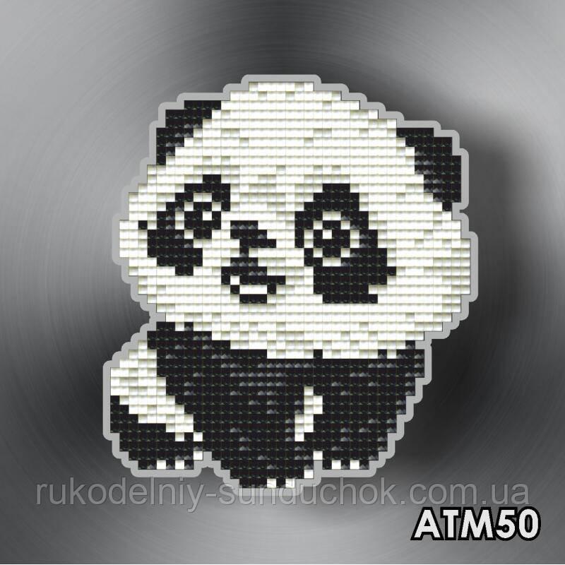 Набор алмазной вышивки (магнит) ТМ ArtSolo  Панда  АТМ50