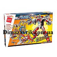 """Конструктор Brick 3304 Blast Ranger """"Робот истребитель"""" 763 детали"""