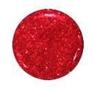 Гель-лак для нігтів SALON PROFESSIONAL (США) 18мл, колір-дрібні червоні блискітки на прозорій основі.
