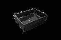 Раковина прямокутна Giorgio Group Detroit 485х375х150 мм Black Onyx GG0219B1UA03, КОД: 1536297