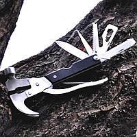 Мультитул Lesko Multi hammer 18 в 1 плоскогубцы молоток гаечный ключ пассатижи 3829-11419, КОД: 1558630