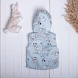 Весняна дитяча жилетка, фото 2