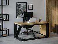 Компьютерный стол Skandi Wood SW107 Индиана Натуральный дуб SW10712875NaOMDF, КОД: 1556950