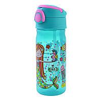 Бутылка для воды YES Rachel Mermaid 450 мл Бирюзовый 706899, КОД: 1563728