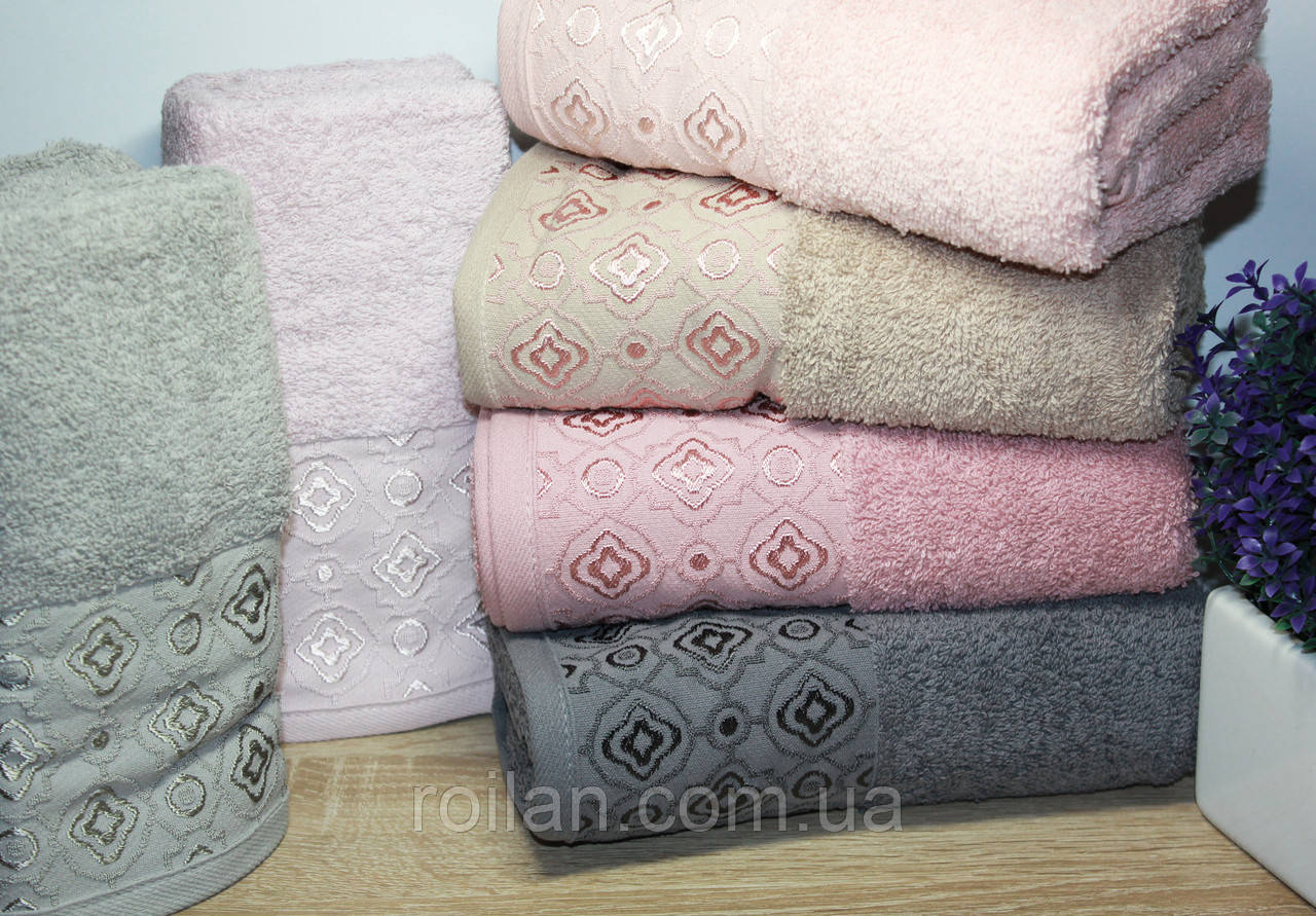Лицевые турецкие полотенца ELFIN