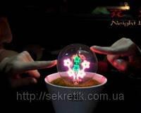Магический цветок с подсветкой