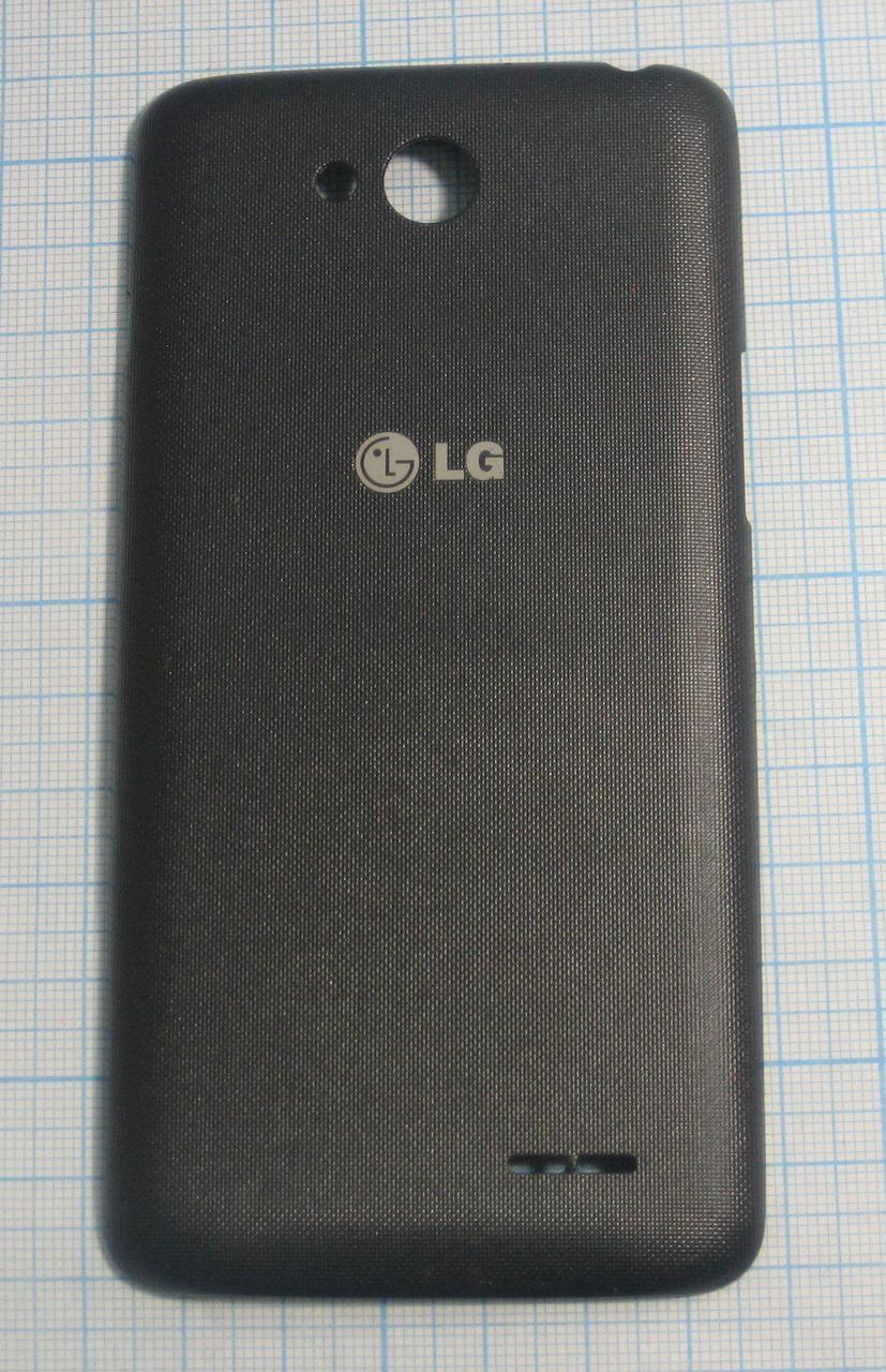Задня кришка для LG-D405n чорна, чорна, б/в