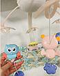 Детский музыкальный мобиль с проектором ночного неба на пульте 9937-38 Kissbaby «Яркие птички» - 500 мелодий, фото 4