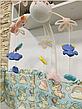 Детский музыкальный мобиль с проектором ночного неба на пульте 9937-38 Kissbaby «Яркие птички» - 500 мелодий, фото 6