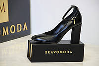 Женские туфли из натуральной кожи)