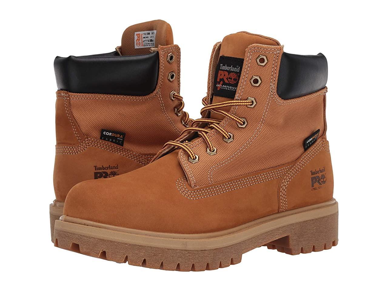 "Ботинки/Сапоги (Оригинал) Timberland PRO Direct Attach 6"" Steel Safety Toe Wheat"