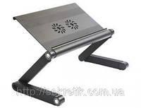 A7 long Столик для ноутбука Omax с вентилятором, фото 1