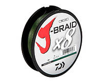 Шнур Daiwa J-Braid x8 Dark Green 150м 0.06мм