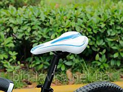 Удобное велосипедное седло Lietu для горного велосипеда  Голубой