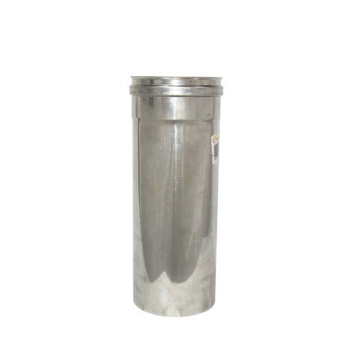 Труба дымоходная 0,3 м нерж. ø220 мм (толщина 0,6 мм)