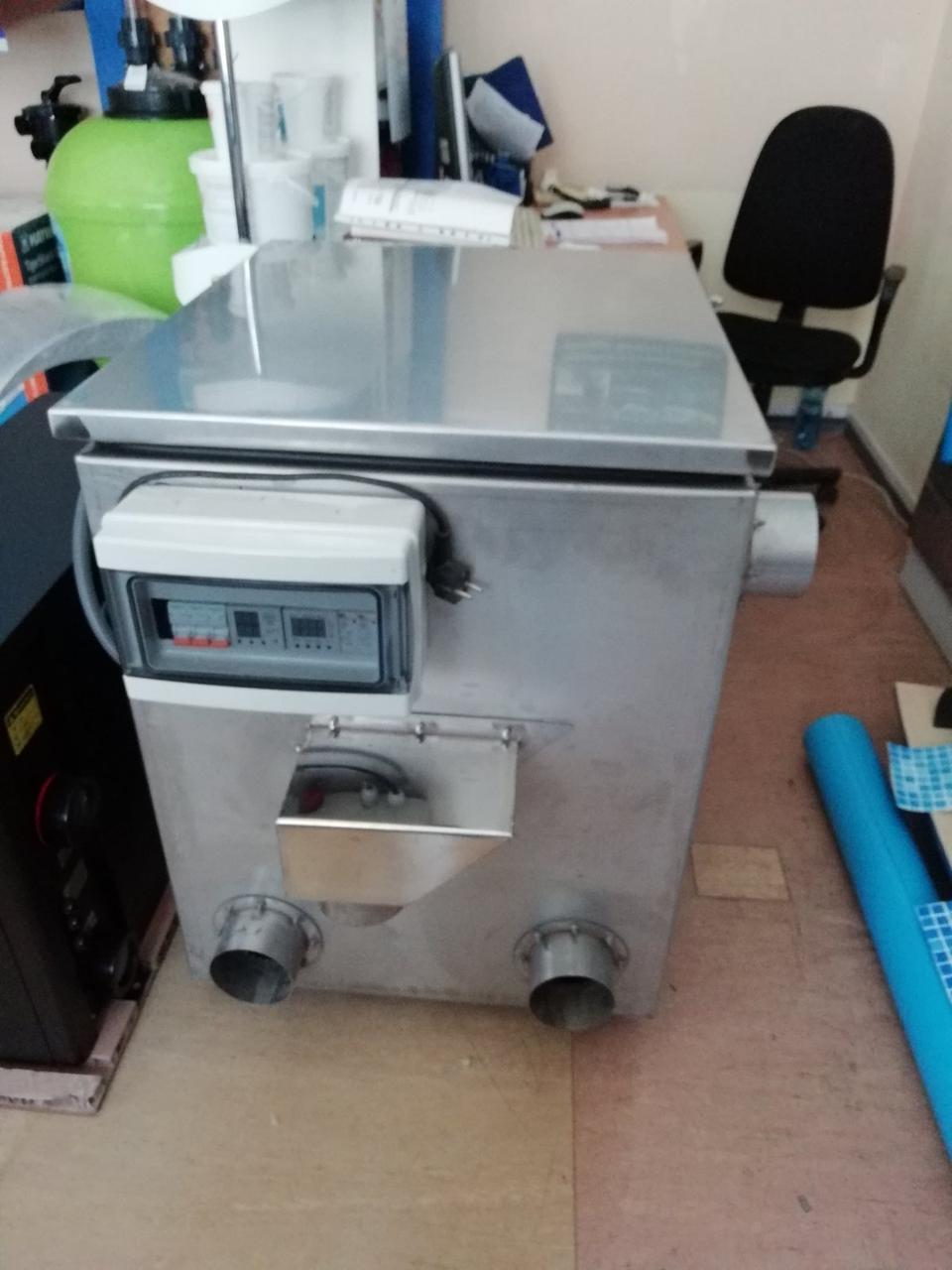 Барабанный фильтр ≥ 180 м3/ч AVA SF-100 из нержавеющей стали