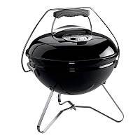 Гриль на углях Weber Smokey Joe Premium (430х460х410мм), черный
