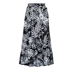 Отзывы (9 шт) о Faberlic Удлиненная юбка цвет темно-серый размер 40 42 44 46 48 50 52 54 56 Карибиана 067W3304 арт 87611