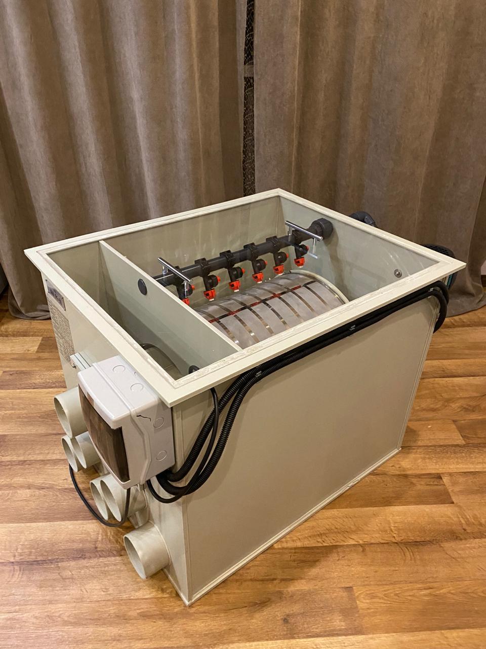 Барабанный фильтр  ≥ 35   м3/ч  AVA PF-20