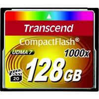 Transcend 128 GB 1000X CompactFlash Card TS128GCF1000